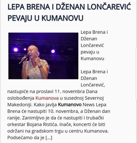 Sa Lepom Brenom u Kumanovu